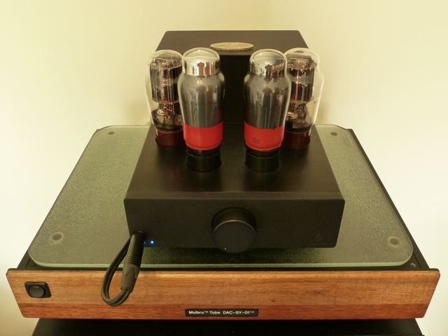 Audio Elise Amplifier and ES9018 Tube DAC