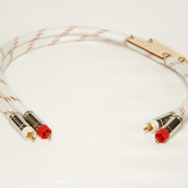Audio Interconnect Cable - High end Malega Silver 1