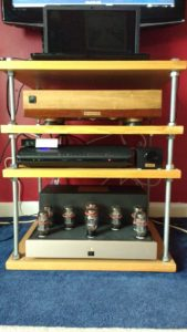 Martin Swain Audio System with Wolfson Tube DAC and Passive Pre Amp PS1™