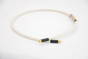 Silver Coaxial Audio Cable
