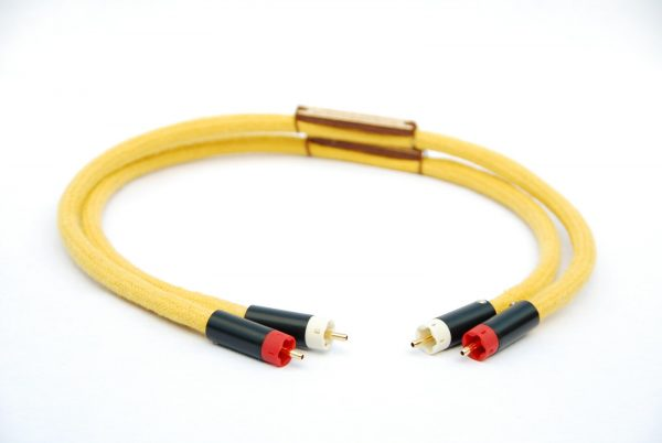 Audiophile Silver RCA Interconnects