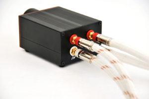 Audiophile passive preamplifier PS1 Silver