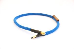 Silver USB Audio Cable