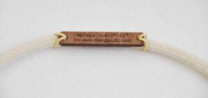 Hifi 3.5 mm silver cable